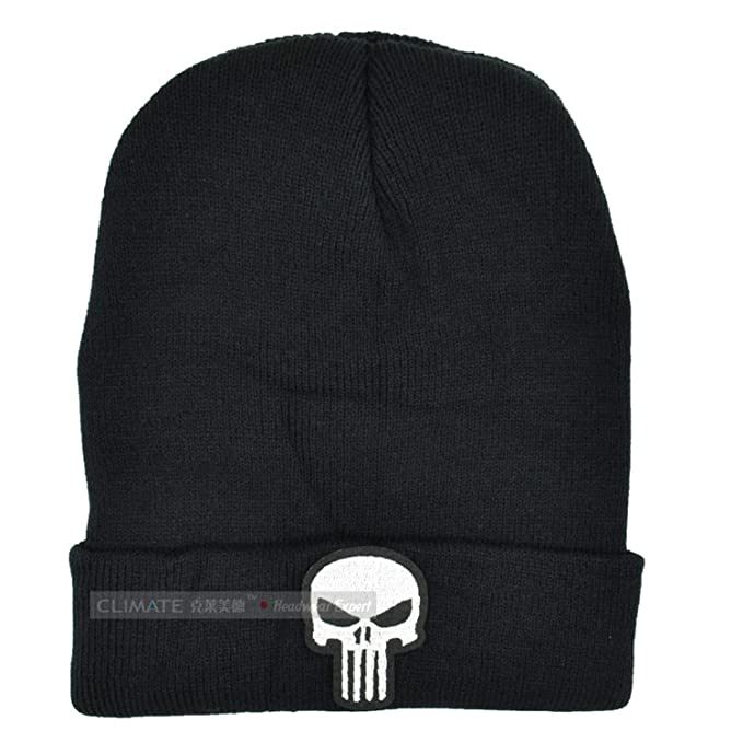 064ea81281a MEIZOKEN Winer Hat Men Beanie Man Winter Hat for Men Hat Cap Beanie Skulls  Skeleton Knitted Hat Cap Adult Boys at Amazon Men s Clothing store