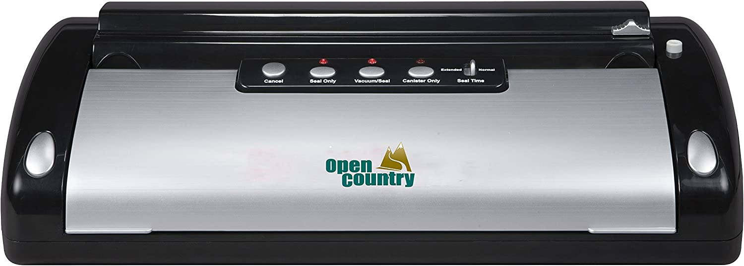 Open Country VS-02SK Vacuum Food Sealer with Bag Cutter
