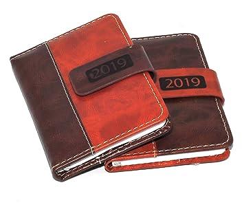 Agenda 2018 de bolsillo, vista semanal, cierre magnético, de ...