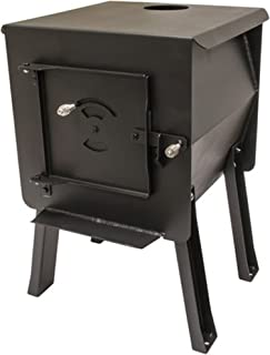 """product image for England's Stove WorksSurvivor 12-CSM """"Blackbear"""" Portable Camp/Cook Wood Stove 1.8 Cubic Feet"""