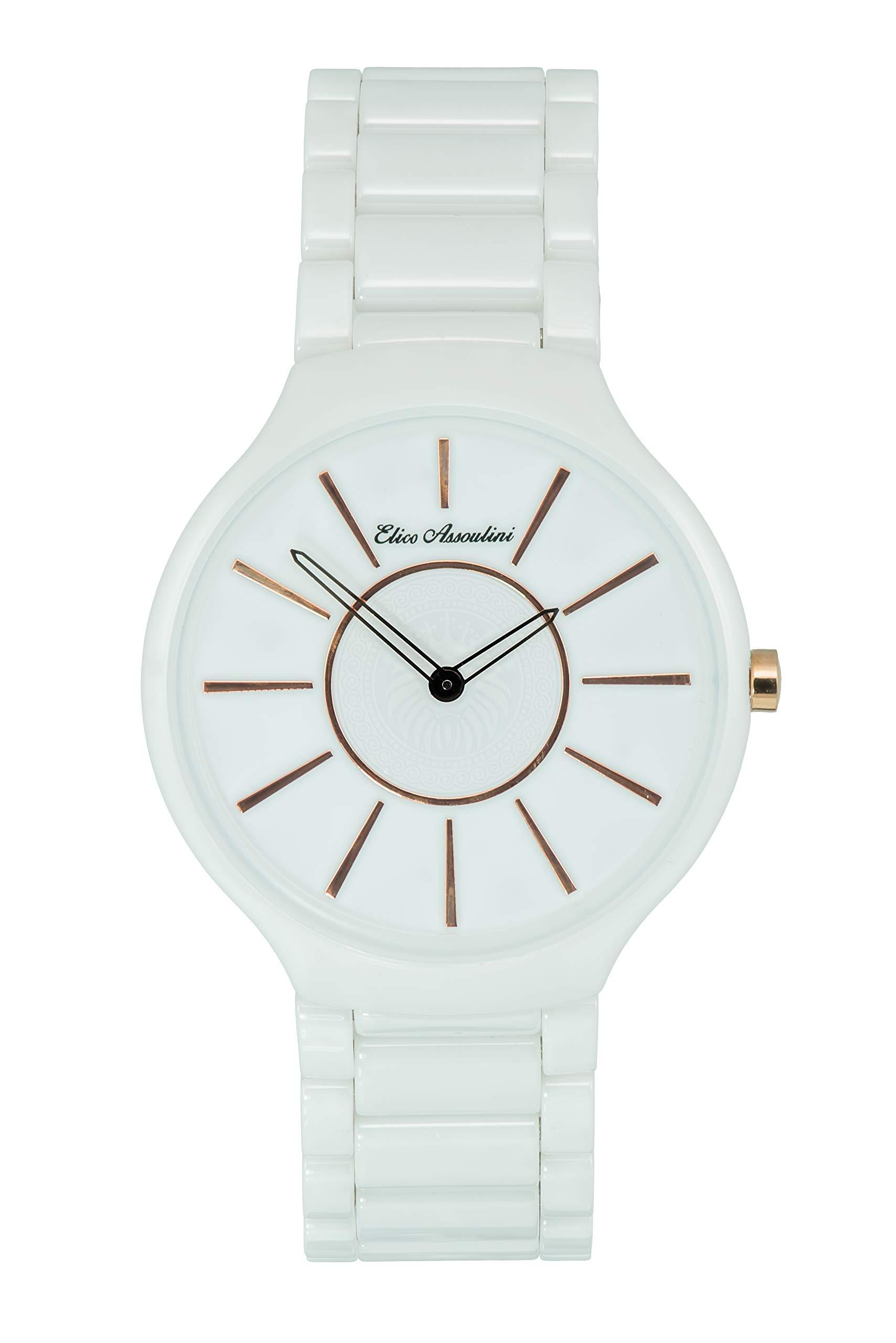 Elico Assoulini Baby Boy's SL75968''Leone'' Ceramic Watch, White by Elico Assoulini