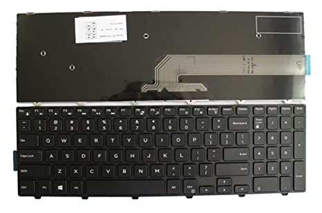 Amazon Com Kbr Replacement Keyboard For Dell Inspiron 17 5000