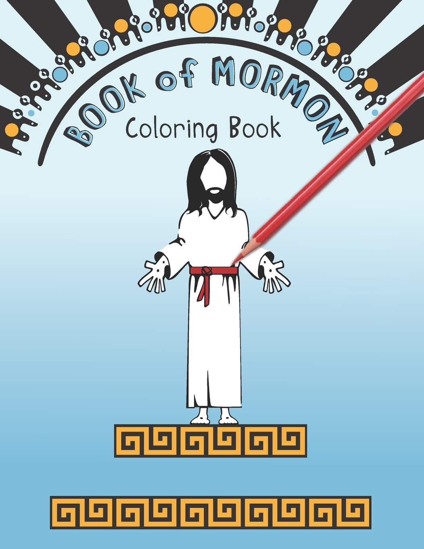Children enjoying new Book of Mormon stories coloring book ... | 1360x1051