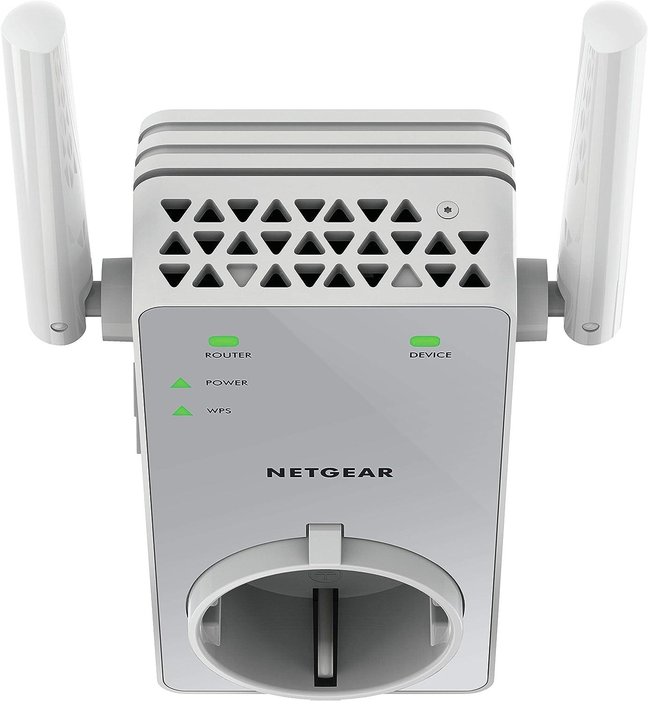 Netgear EX3800 Repetidor WiFi AC750, amplificador WiFi doble banda ...
