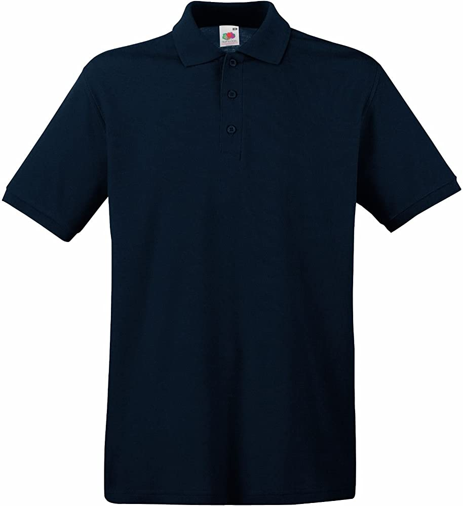 Fruit of the Loom - Polo - para Hombre Azul Azul XX-Large: Amazon ...