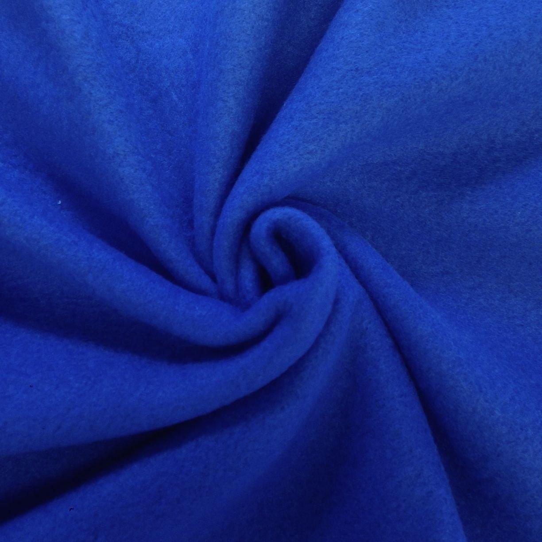 Solid Royal Blue Fleece Fabric 60'' inch Sold by The Yard by Islands Fabric   B01EVX4CM8
