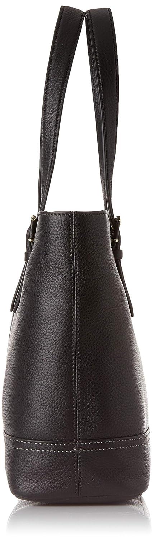 7fb77f27160a Le Tanneur femme Josephine Tjos1650 Cabas Noir (Noir)  Amazon.fr  Chaussures  et Sacs