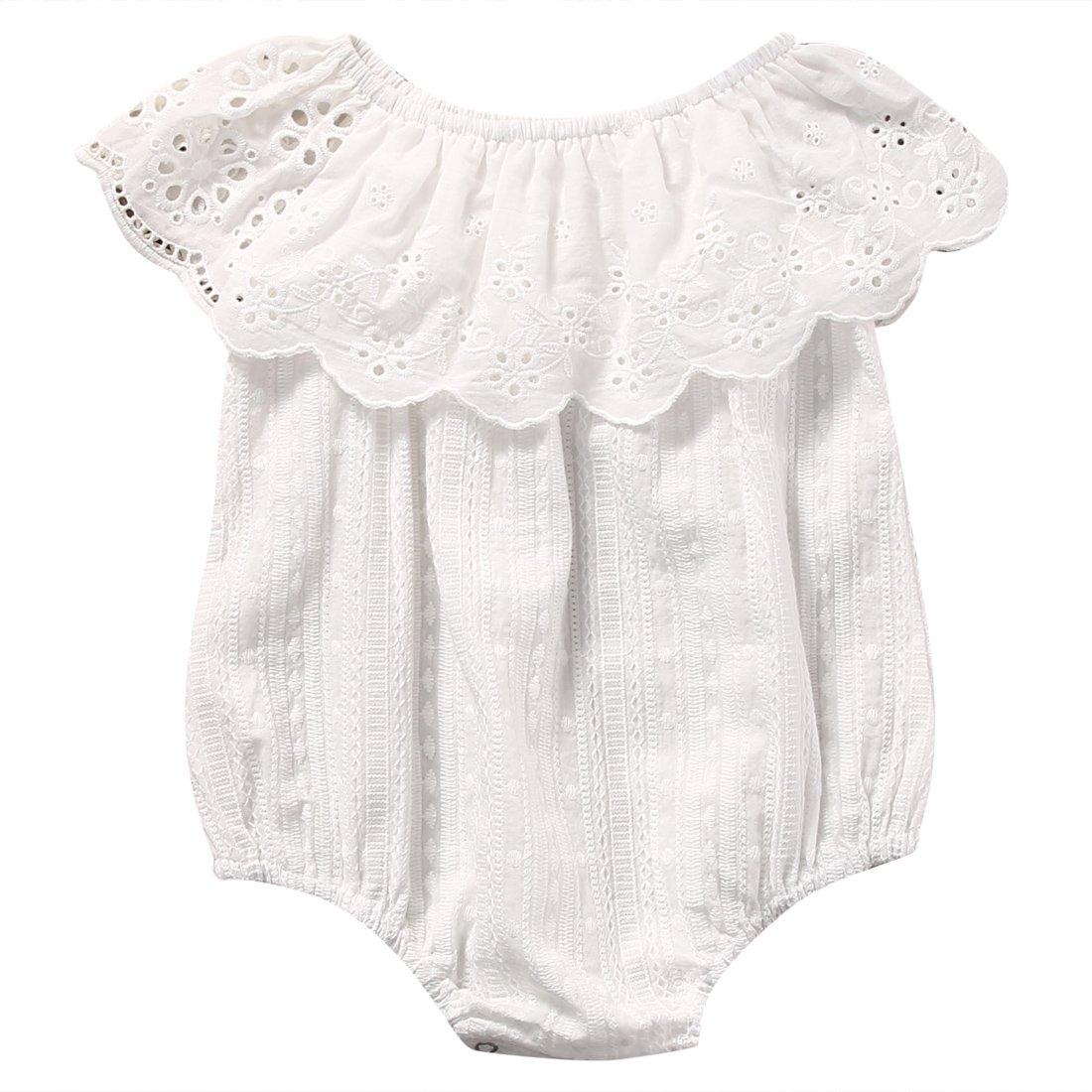Bébé Fille Bébé Barboteuse Combinaisons Vêtements 0-24 Mois