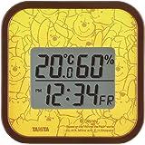 タニタ デジタル温湿度計 (見るたびハッピーな温湿度計) プー TT-DY01-PO