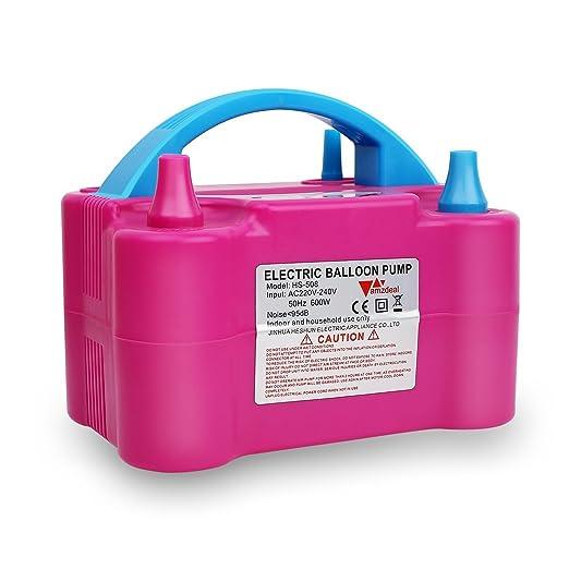 77 opinioni per Amzdeal® Pompa elettronica per gonfiaggio palloncini. Ideale per feste e