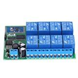 12V 8-Channel Bluetooth Relay Module Remote Control