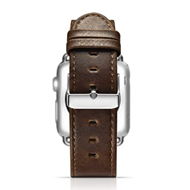 Amazon.com: Krofel Genuine Leather Watchband/Wrist Band for ...