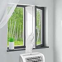 MYCARBON Mobil klima cihazları için pencere contası, 400 cm, delmeden klima, pencere contası, çamaşır kurutma kurutucu…