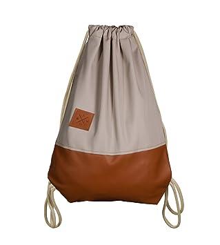 Gute Preise Einkaufen Genießen Sie kostenlosen Versand Leather Sports Bag - Leder Rucksack Gym Bag Turnbeutel Sport Beutel Tasche  Manufaktur13 M13