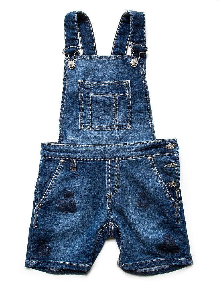 746 - Bleu Moyen à Sec (Stone Wash) 2-3 ans (hauteur  92 cm) voiturerera Jeans - Jeans 786 pour Fille, Salopette, Style imprimé, Tissu Extensible, Taille Normale, Taille Normale
