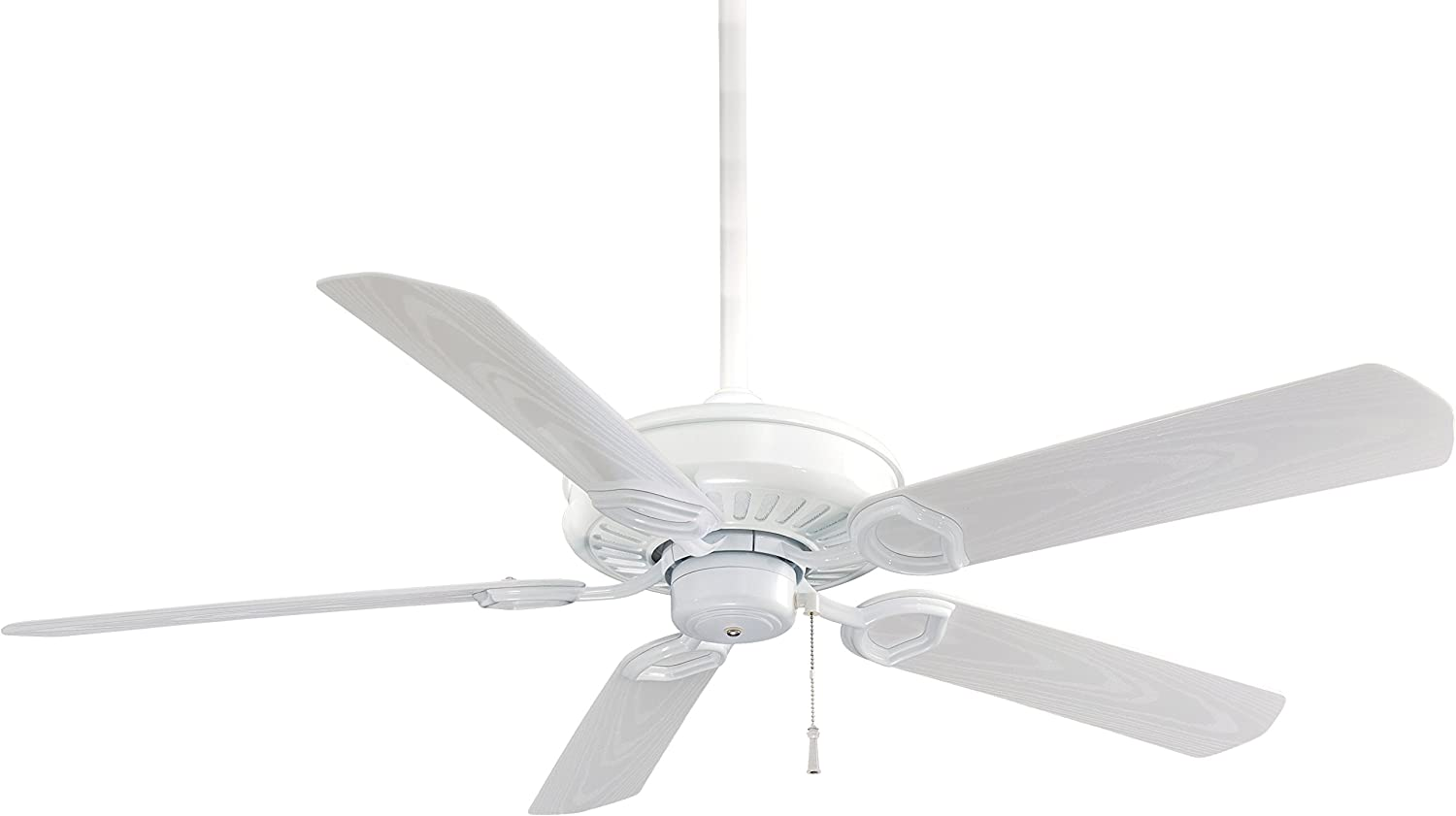 "B000JZREOG Minka-Aire F589-WH Sundowner 54"" 5-Blade Ceiling Fan in White Finish 71a2pWTb9oL"