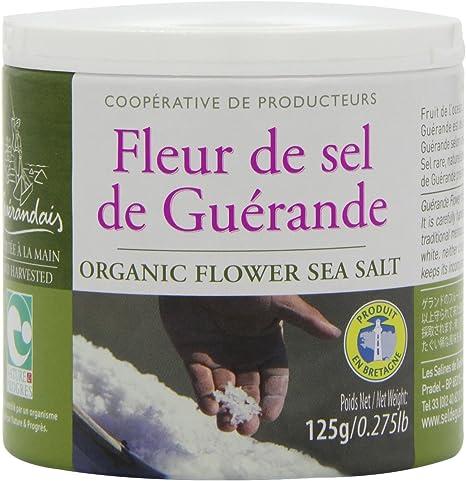 Amazon Com Le Guerandais Fleur De Sel From Guerande 125 G