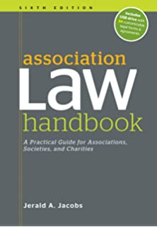 Association law handbook: a practical guide for associations.