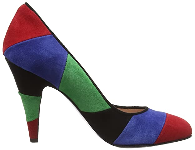 Womens Scarpad.lina100 Cam.Multicolore Closed-Toe Pumps Moschino bsc30Gl