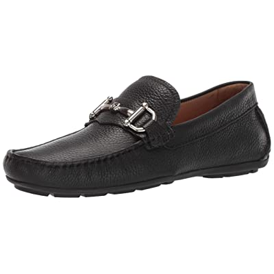 Driver Club USA Mens Genuine Leather Made in Brazil Park Ave Buckle Loafer, black grainy 11.5 M US | Loafers & Slip-Ons
