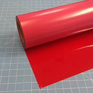 "Siser Easyweed Red 15"" x 5' Iron on Heat Transfer Vinyl Roll"
