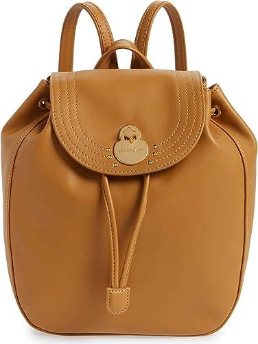 Longchamp Cavalcade Sac à dos en cuir naturel pour femme Beige ...