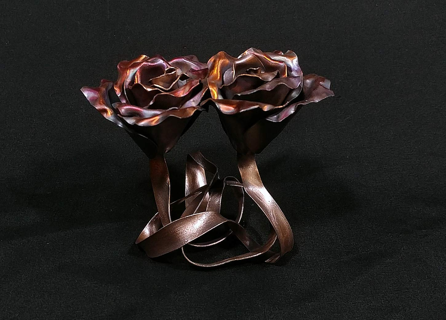 Tie The Knot Copper Rose 1646r Steampunk Wedding Industrial