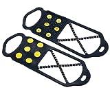 キャプテンスタッグ キャンプ 登山 靴用滑り止め 滑らんぞー スリム LサイズM-6151