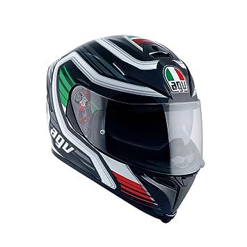AGV - Casco de moto K-5 S E2205 Multi PLK, Firerace negro/