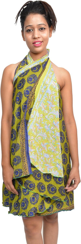 Wevez Wholesale Lot of 5 Art Dallas Mall 2 Silk Indian Magic Wrap Indianapolis Mall Reversible