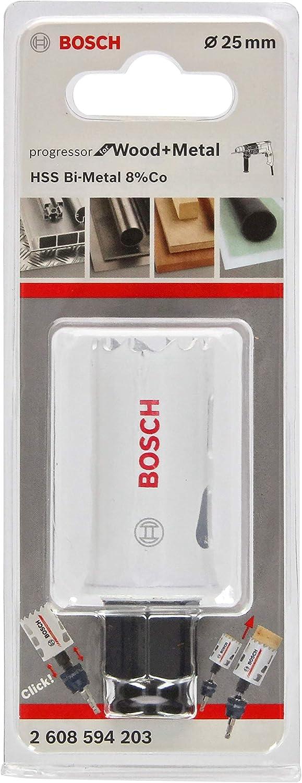 Bosch Professional Lochsäge Progressor For Wood Metal Holz Und Metall Ø 25 Mm Zubehör Bohrmaschine Baumarkt
