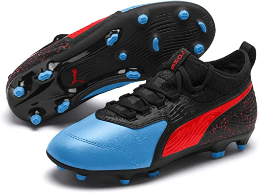 PUMA One 19.3 FGAG Jr, Chaussures de Football Mixte Enfant