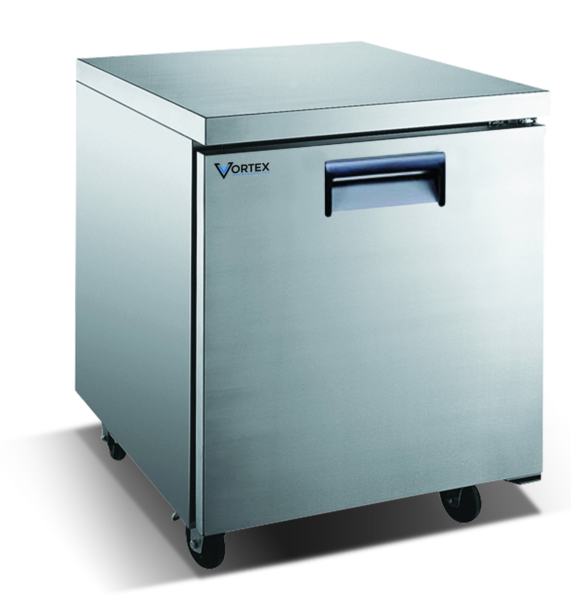 Vortex Refrigeration Commercial 1 Door 27'' Under Counter Refrigerator - 6.25 Cu. Ft.