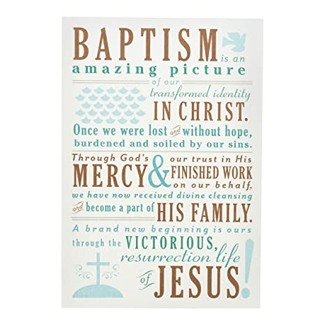 amazon com baptism inspirational boxed cards christian words