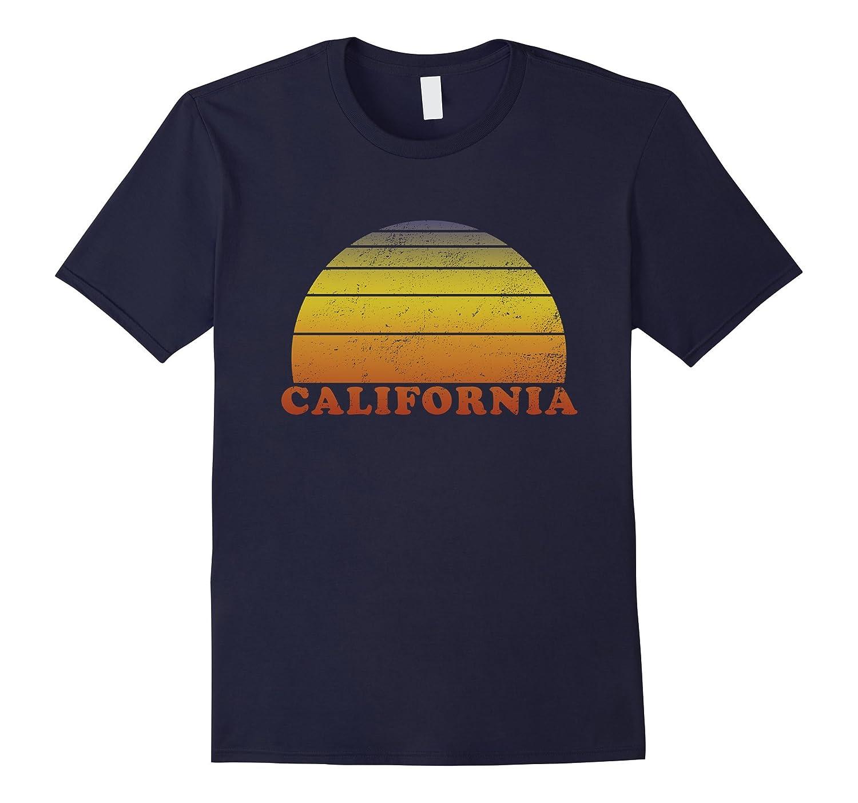 California Retro Vintage T Shirt 70s Throwback Surf Tee-Art