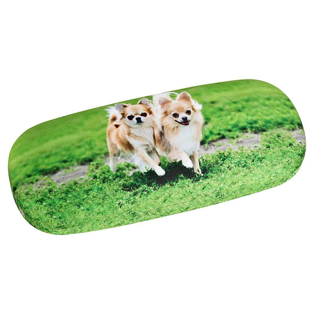 VON LILIENFELD Chihuahuas Brillenetui Geschenk Motiv Damen Herren Hunde Chihuahuas