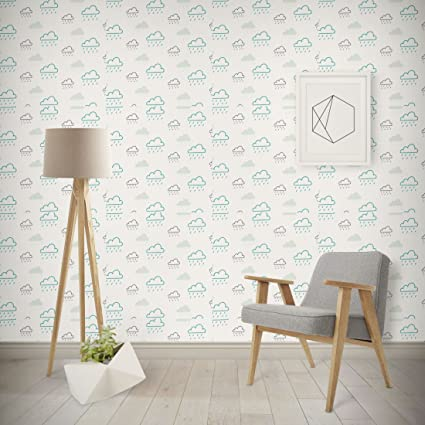Wallpaper For Kids Room 017 2x Self Adhesive Textured Paper