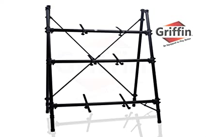 Amazon.com: 3 Tier Keyboard Stand by Griffin|Triple A-Frame Standing ...