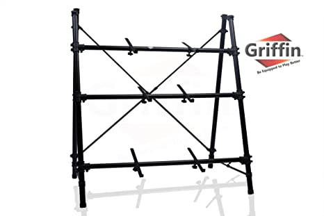 Amazon.com: 3 Tier Keyboard Stand by Griffin Triple A-Frame Standing ...
