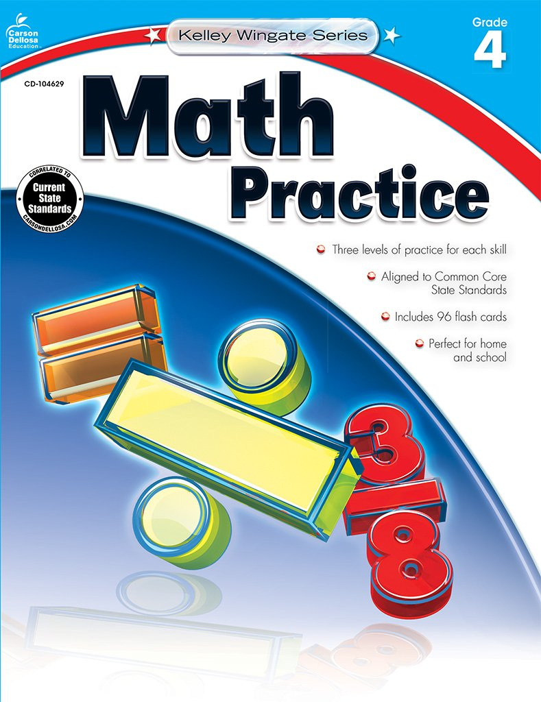 Workbooks houghton mifflin math practice workbook grade 4 : Math Practice, Grade 4 (Kelley Wingate): Carson-Dellosa Publishing ...