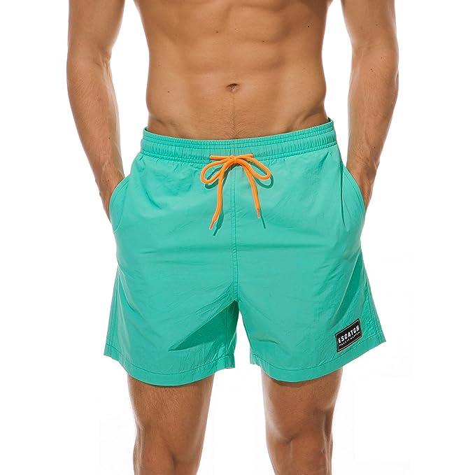 9cbca57dd359 Meerway Pantaloncini da Bagno Uomo Calzoncini da Mare Uomo Costume da Bagno  Uomo Swim Shorts: Amazon.it: Abbigliamento