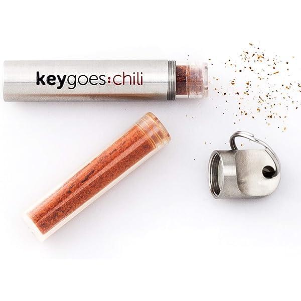 keygoes: Chili clave cadena - pequeño llavero con Carolina ...