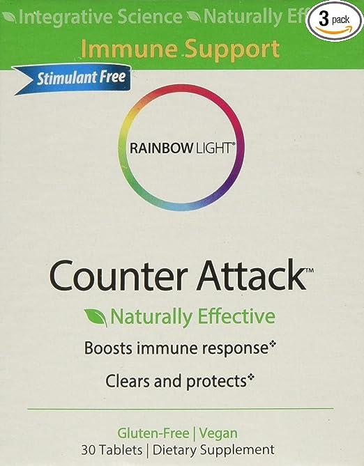 Amazon.com: Arco Iris Luz Contador de ataque, 30 Tab (Pack ...