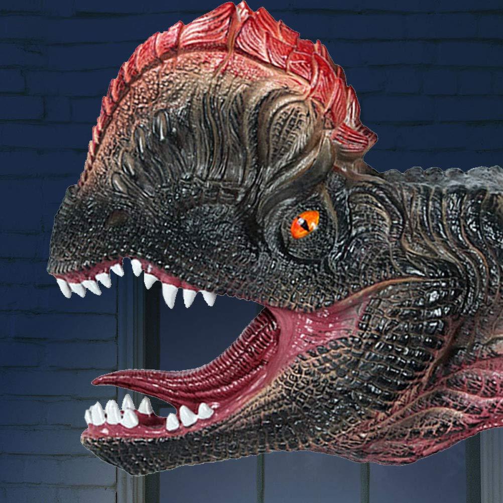 TOYMYTOY Testa di dinosauro Guanti Figura Ruolo Giocattolo Maschera dinosauro Tyrannosaurus