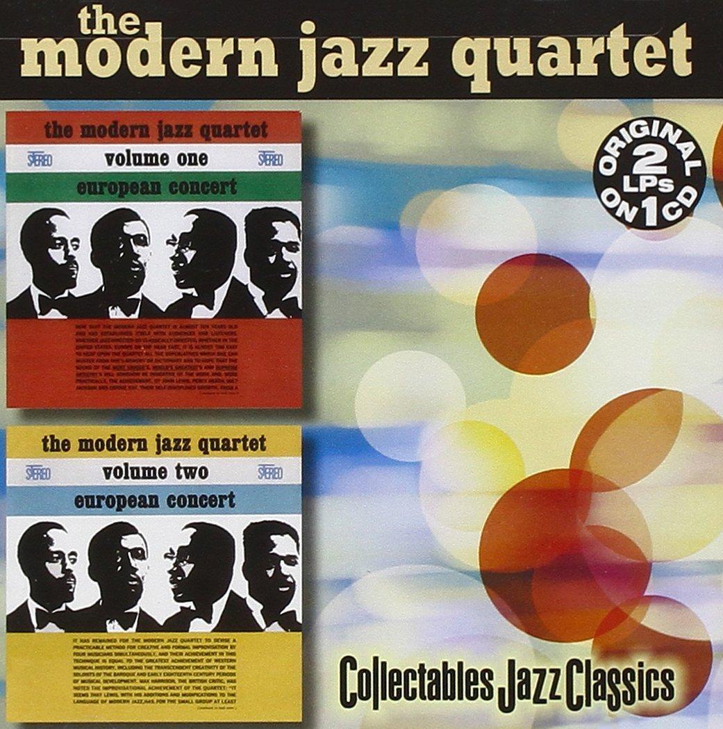 CD : The Modern Jazz Quartet - European Concert, Vol. 1 And 2 (CD)