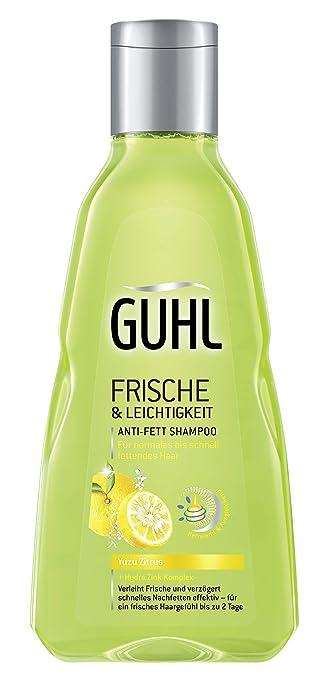 Guhl Frische Und Leichtigkeit Anti Fett Shampoo Mit Yuzu Zitrus