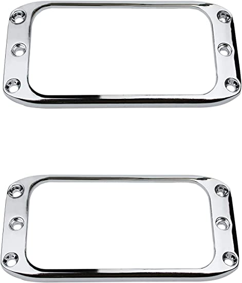 Alumitone Humbucker Chrome With Trim Ring Free UK Shipping