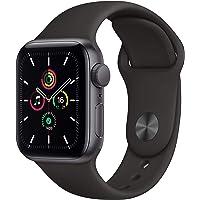 AppleWatch SE (GPS, 40 mm) Caja de Aluminio en Gris Espacial - Correa Deportiva Negra