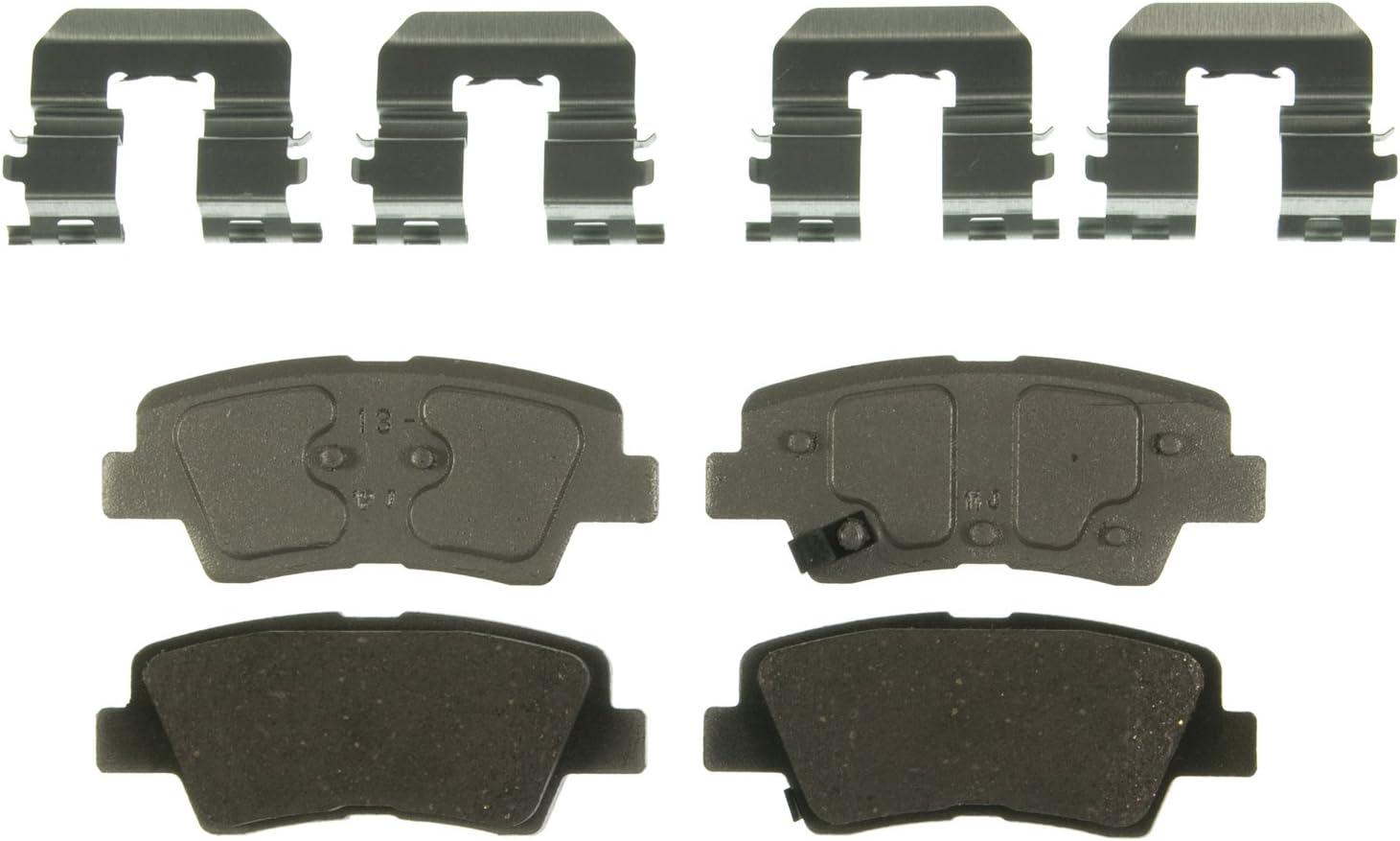 Disc Brake Pad Set-ThermoQuiet Disc Brake Pad Rear Wagner QC1391