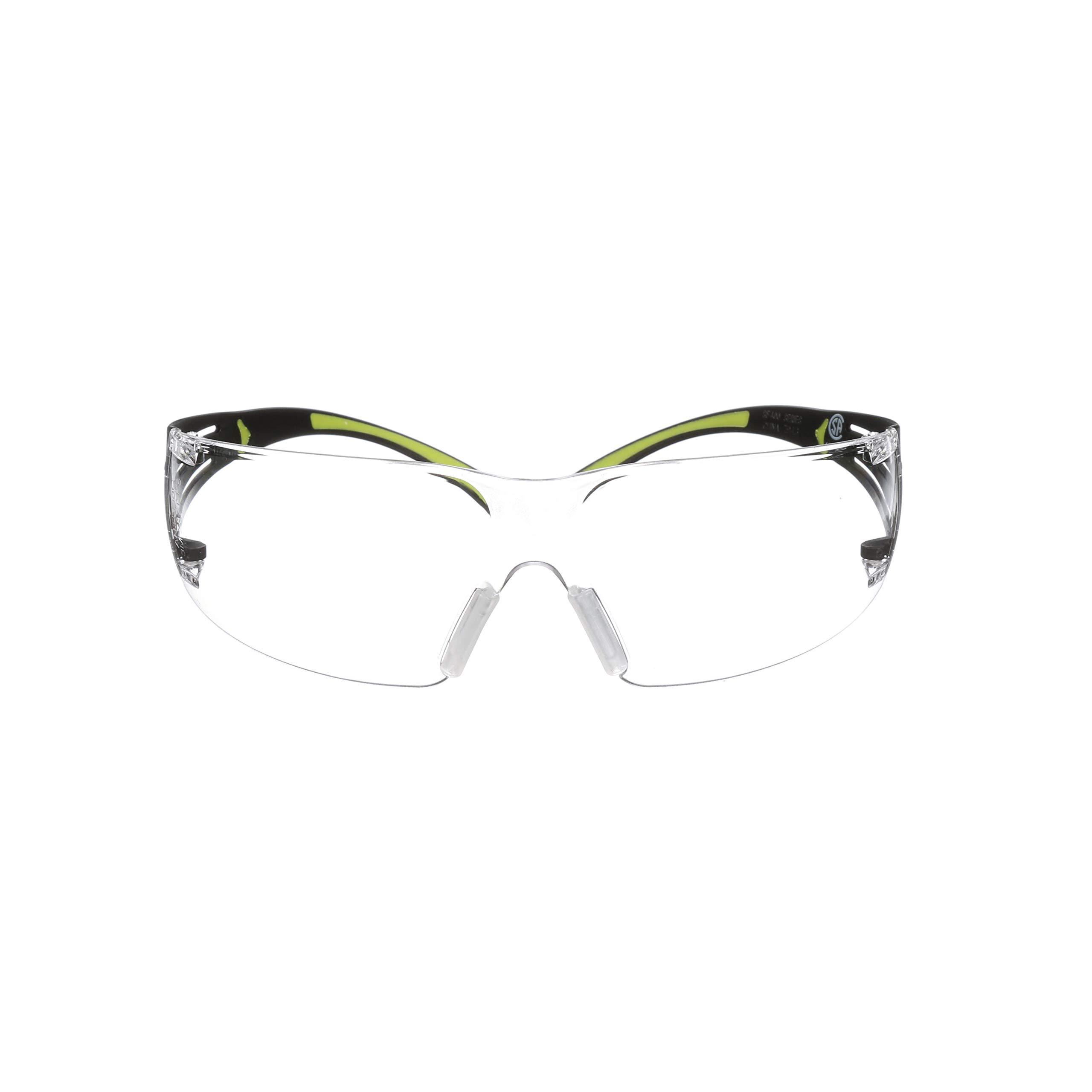 ce82e54185e4 3M SecureFit Protective Eyewear, 400-Series, SF401AF, CLEAR Anti-fog lens  (Case of 20): Amazon.com: Computers & Accessories